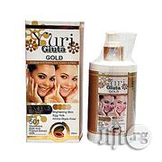 Yuri Gluta Gold Extreme Whitening Sun Screen Lotion Spf50+ | Skin Care for sale in Lagos State, Ojo