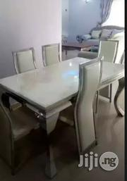 Quality Marble Dining Table by 6 | Furniture for sale in Lagos State