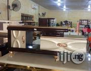 Trendy Glass Top TV STAND With Drawers Used in Over 1million Homes | Furniture for sale in Lagos State, Ikeja