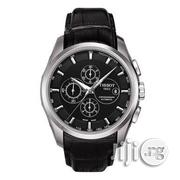 Exclusive Chronograph Tissot Wristwatch With Leather Strap | Watches for sale in Lagos State, Lagos Island