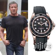 Exclusive Rolex Wristwatch With Black Leather Strap Available | Watches for sale in Lagos State, Lagos Island