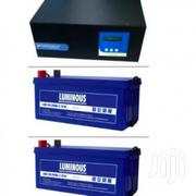 Sinergy Or Sukam 1.5kva Inverter With 2 200ah Batteries | Electrical Equipment for sale in Lagos State, Ikeja