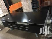 High Quality Black Wooden Well Designed Office Table 2 Meters by Size | Furniture for sale in Bayelsa State, Kolokuma/Opokuma