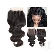 Quality 4*4 Three-part Body Wave Lace Closure | Hair Beauty for sale in Lagos State, Lagos Island