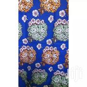 Chiganvy Floral Ankara Fabric-6 Yards Blue | Clothing for sale in Lagos State