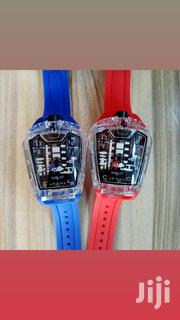 Hublot Skeleton Rubber Strap Wrist Watch | Watches for sale in Lagos State, Lagos Island