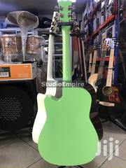 Sparkle Acoustic Box Guitar With Bag and Strap – Green | Musical Instruments & Gear for sale in Lagos State, Surulere