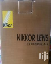Nikkor Lens 50mm 1.8G | Accessories & Supplies for Electronics for sale in Lagos State, Lagos Island