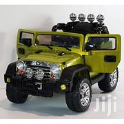 Jeep Wrangler Style 12v Ride on Car for Kids With Remote Control-Green | Toys for sale in Abuja (FCT) State, Maitama