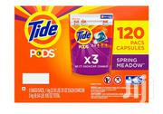 Tide Pods Original Laundry Detergent Spring Meadow(120 Count) | Home Accessories for sale in Lagos State, Ikeja
