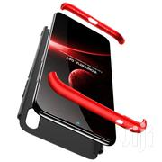 Xiaomi Redmi Note 7 Stage Splicing Full Coverage PC Case (Black Red)   Accessories for Mobile Phones & Tablets for sale in Lagos State, Ikeja