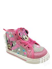 Disney Toddler Girl's Minnie Mouse High Sneakers Pink | Children's Shoes for sale in Lagos State, Ajah