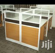By 4 OFFICE CUBICLES With Mobile Step Drawers on Each Seat | Furniture for sale in Lagos State, Ojota