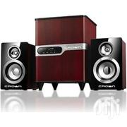 Crown Cms-440 2.1 Multimedia Subwoofer Speaker System | Audio & Music Equipment for sale in Abuja (FCT) State, Wuse 2