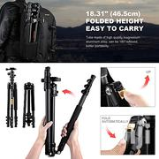K Fconcept Dslrcamera Tripod Lightweight and Compact Aluminiumtripod | Accessories & Supplies for Electronics for sale in Abuja (FCT) State, Central Business District