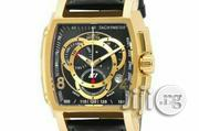 Invicta S1 Rally Leather Strap Watch - Black   Watches for sale in Lagos State, Surulere