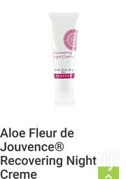 Aloe Fleur De Jouvence Recovery Night Creme | Skin Care for sale in Abuja (FCT) State, Utako