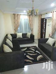 Fabric L-shape Sofa With Two Seater Sofa | Furniture for sale in Lagos State