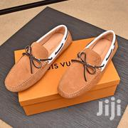 Louis Vuitton Monte Carlo Suede Men'S Loafers - Brown | Shoes for sale in Lagos State, Ikeja
