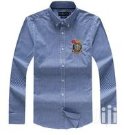 Blue Tiny Check Desigers Shirt by PRL   Clothing for sale in Lagos State, Lagos Island