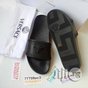 Versace Palazzo Medusa Slippers Black | Shoes for sale in Lagos State, Ojo
