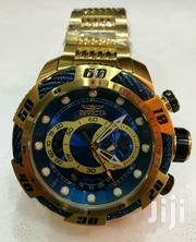 Big Bang Rosegold Blue Chronograph Wrist Watch by Invicta | Watches for sale in Lagos State, Lagos Island