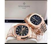 Male Female Gold With Black Face Design Watch by Patek Phillipe G. | Watches for sale in Lagos State, Lagos Island