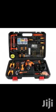 Portable Tool Box With 10mm 12v Cordless Drill Machine | Hand Tools for sale in Lagos State, Lagos Island