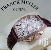 Gold Plated With Full Front Icestone Designer's Watch by Franck Muller   Watches for sale in Lagos State, Lagos Island