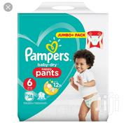 Pampers Baby Dry Nappy Pants U.K. Size 6 (58ct) | Baby & Child Care for sale in Lagos State, Ikeja