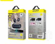 T6c Awei True Wireless Sports Earbuds   Headphones for sale in Lagos State, Ikeja
