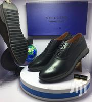 Black Leather Designer Oxford Shoes   Shoes for sale in Lagos State, Lagos Island