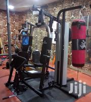 American Fitness Deluxe Commercial/Home (3) Station Gym | Sports Equipment for sale in Anambra State, Onitsha