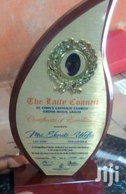 Wooden Plaque Award With Printing   Arts & Crafts for sale in Abuja (FCT) State, Wuse