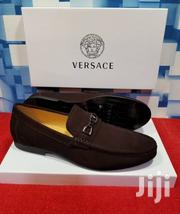 Brown Suede Loafers Shoe by Versace | Shoes for sale in Lagos State, Lagos Island