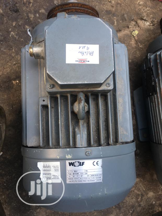 Electric Motor 10hp 3phase Double Speed