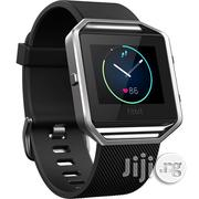 Fitbit Blaze Fitness Watch (Large, Black) | Smart Watches & Trackers for sale in Lagos State, Ikeja