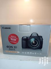 Canon EOS 5D Mark IV DSLR Camera With 24-105mm F/4l 11 Lens | Photo & Video Cameras for sale in Lagos State, Ikeja