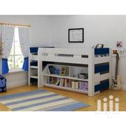 Seconique Lollipop Boys Mid Sleeper Bed In White And Blue | Furniture for sale in Lagos State, Lekki Phase 2