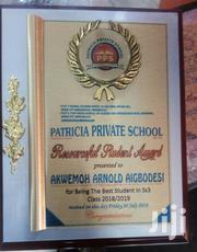 Award Plaque   Arts & Crafts for sale in Abuja (FCT) State, Central Business District