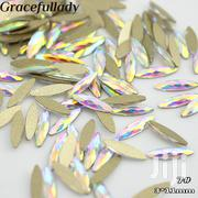 Flat Shaped Elongated Teardrop Rectangle Rhinestones - 20 Piece Pack | Tools & Accessories for sale in Lagos State