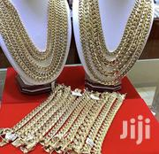 Quality Raw Stainless Steel CUBAN Neck and Hand Chain | Jewelry for sale in Lagos State, Lagos Island