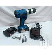 Cordless Battery Drill Driver Machine Work Zone-24v Lithium Ion | Electrical Tools for sale in Adamawa State, Yola North