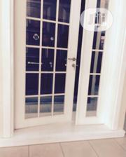 4ft Spanish Solid Wood With Glass Door | Doors for sale in Lagos State, Orile