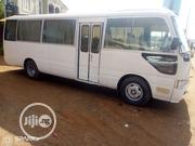 Toyota Coaster Bus Fully Airconditioner For Hire. | Logistics Services for sale in Lagos State, Isolo
