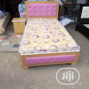 (3×6) Pinging Bedframe With Quality Mouka Mattress | Furniture for sale in Lagos State, Ojo