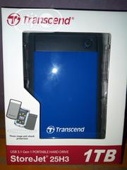 Transcend 1GB External Hard Disk | Computer Hardware for sale in Lagos State, Lagos Island