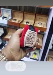 Franck Muller Ice Box Leather Wristwatch   Watches for sale in Lagos State, Lagos Island