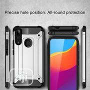 Magic Armor Combination Case For Huawei Y9 Prime(2019) - Silver | Accessories for Mobile Phones & Tablets for sale in Lagos State, Ikeja