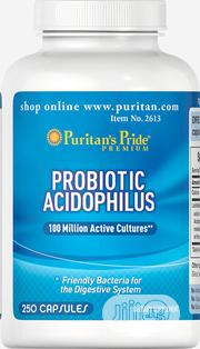 Puritan'S Pride Probiotic Acidophilus Available For Sale | Vitamins & Supplements for sale in Abuja (FCT) State, Gudu